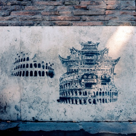 Colosseum Graffiti