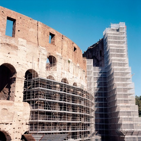 Colosseum Scaffold Rear