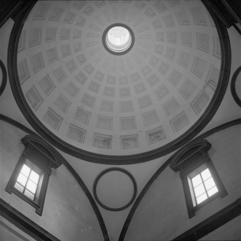Dome, Medici Chapel, San Lorenzo
