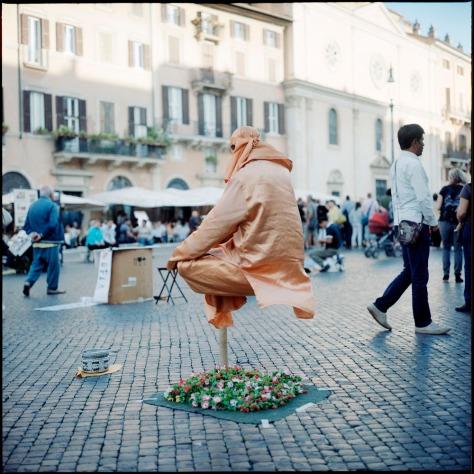Fake Fakir, Piazza Navona