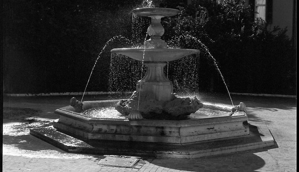 Fountain, Palazzo Barberini