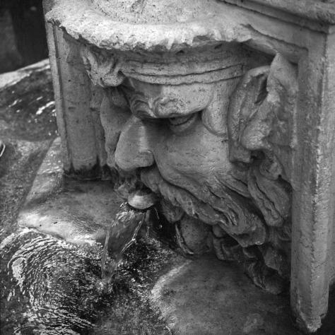 Fountain, Villa Borghese Park, Rome