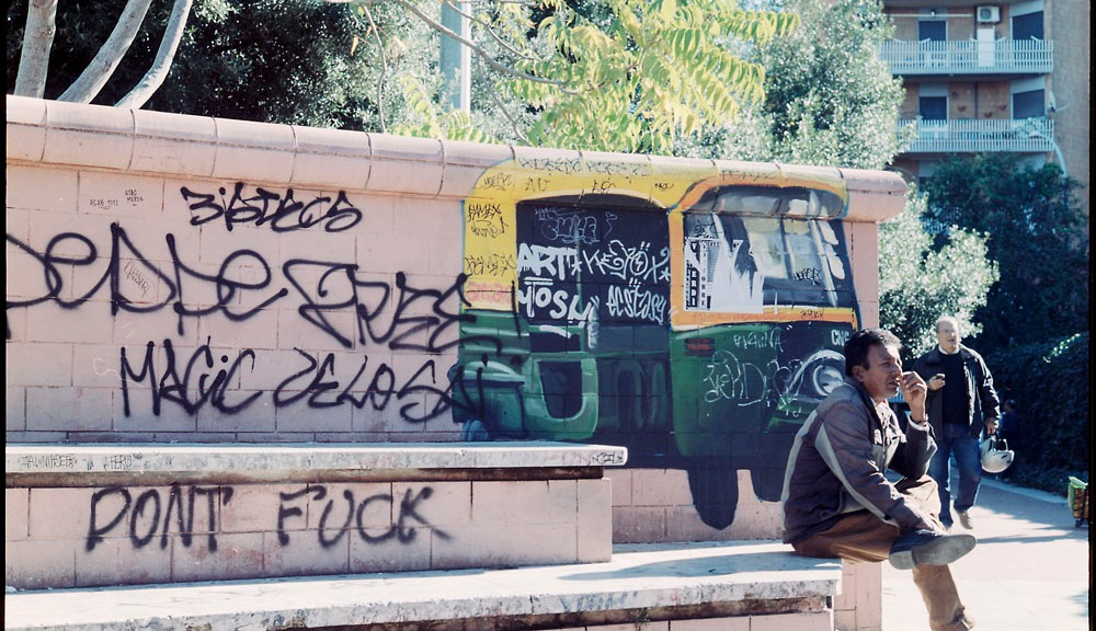 Tuktuk, Graffiti, Garbatella