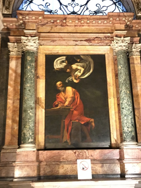 Inspiration of St. Matthew