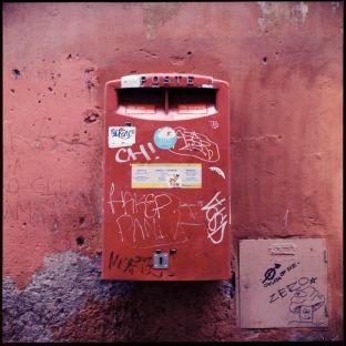Mailbox, Trastevere, Rome