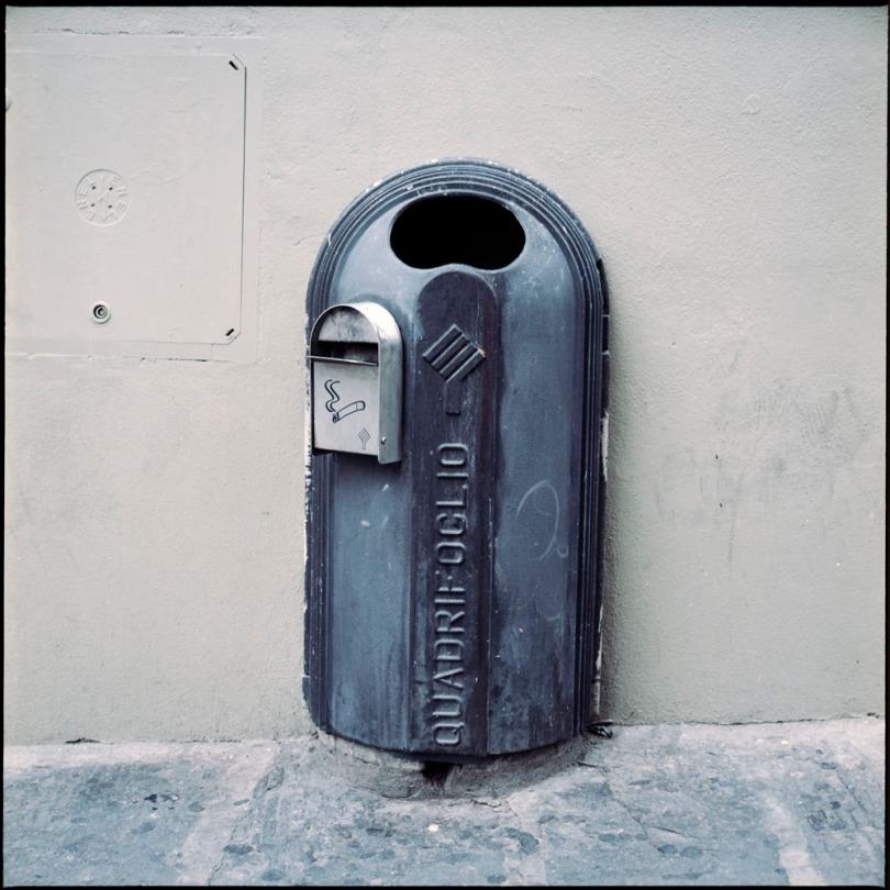 Quadrifoglio Trash Can, Florence