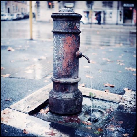 Water Fountain, Trastevere, Rome