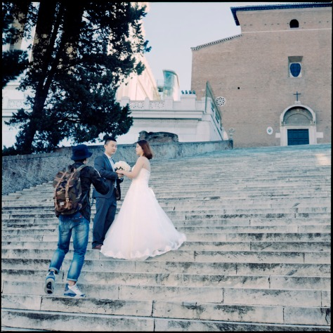 Wedding, Steps of Santa Maria in Aracoeli