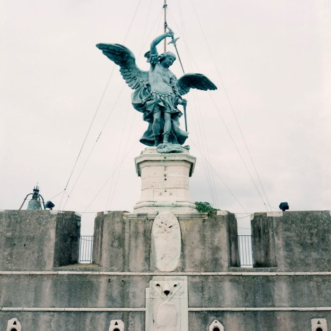 Archangel Michael, Castel Sant'Angelo Roof