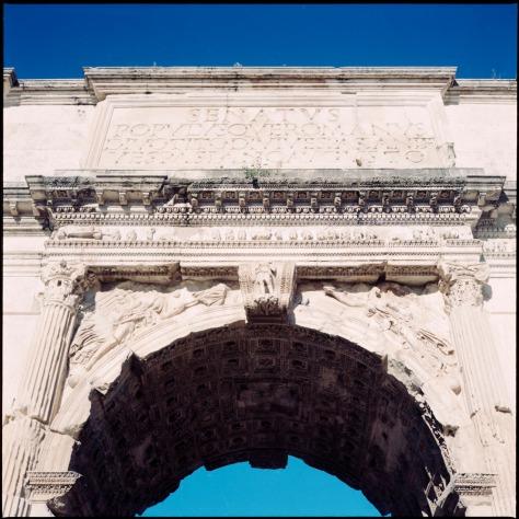 Arch of Titus, Forum
