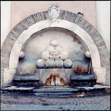 Cannonball Fountain
