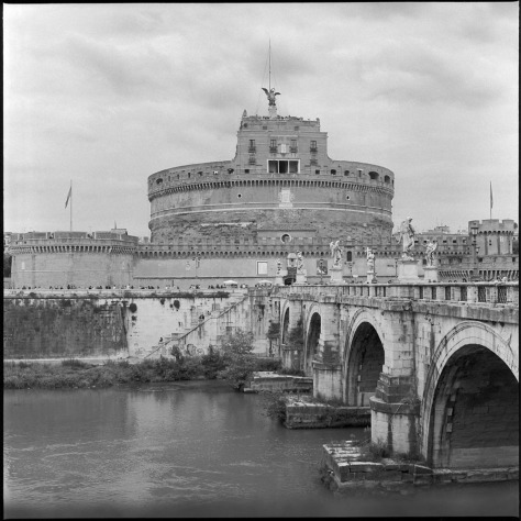 Castel Sant'Angelo from across the Tiber