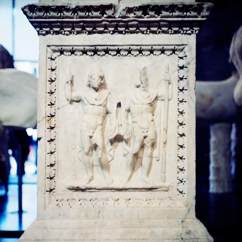 The Altar of Castor and Pollux from the Lacus Juturnae