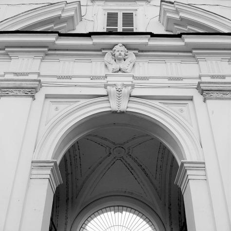Cherub, Santa Cecilia Courtyard