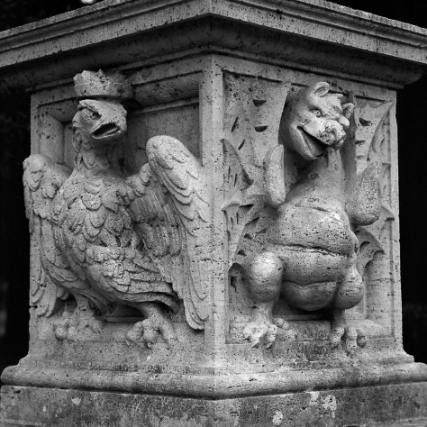 Dragon and Eagle, Villa Borghese