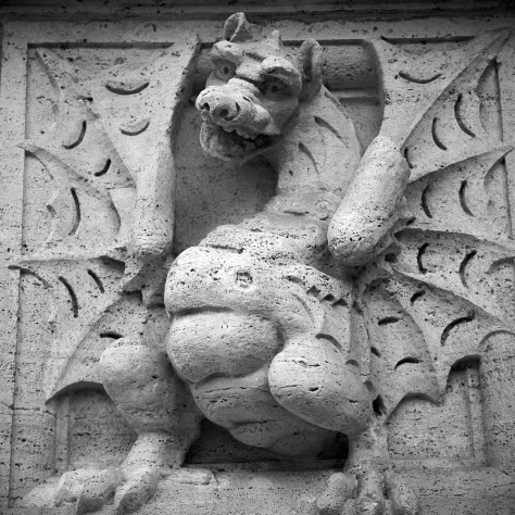Dragon, Villa Borghese