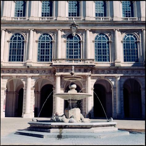 Facade, Villa Barberini