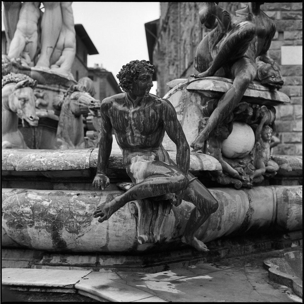 Figure, Neptune Fountain, Piazza della Signoria