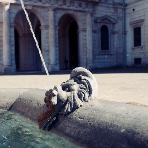 Fountain Detail, Palazzo Barberini