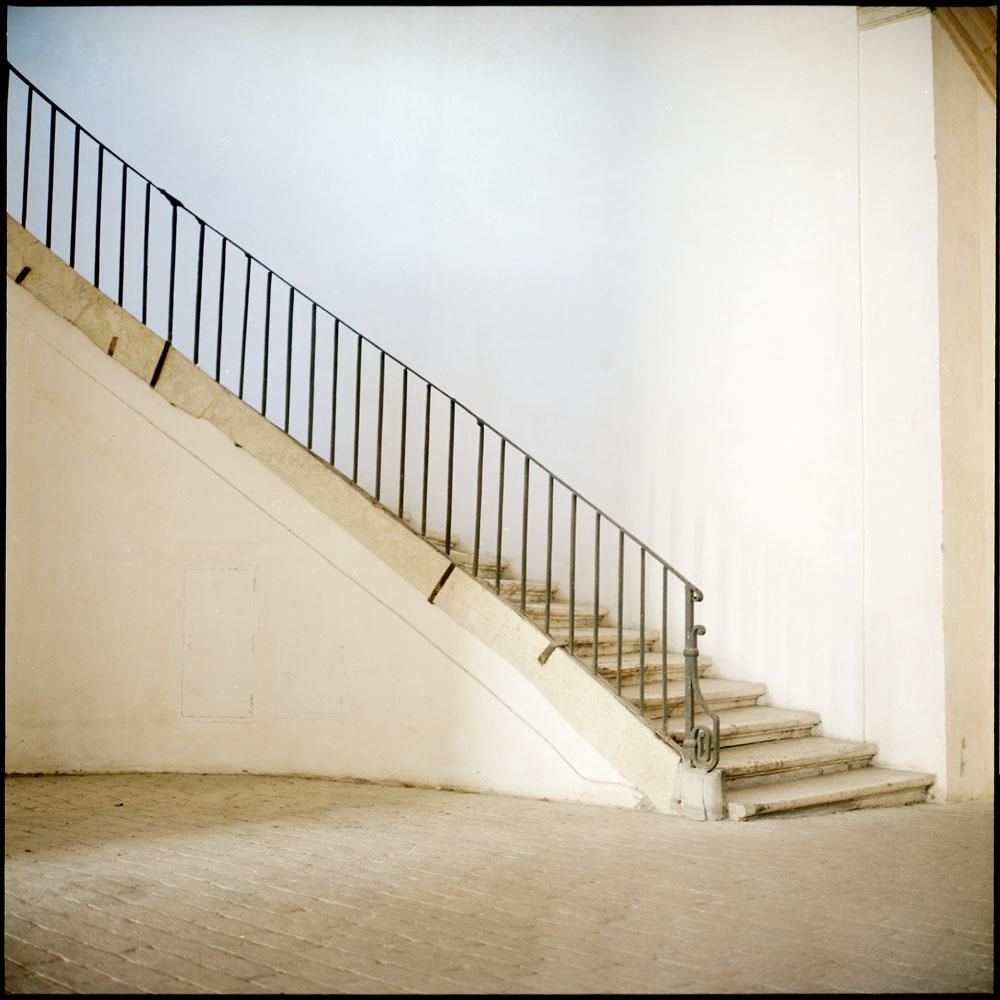 Inner Courtyard Stair, Palazzzo Barberini