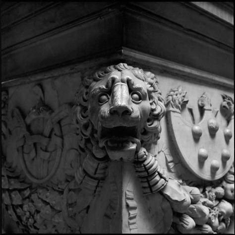 Lion's Head, Medici-Riccardi Palace