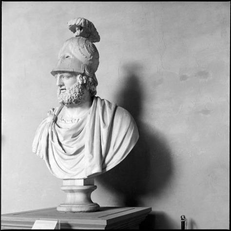 Marble Bust, Courtyard, Palazzo Pitti