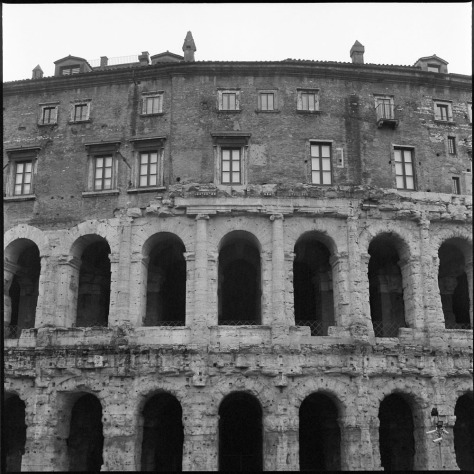 Theater of Marcellus and Apartments
