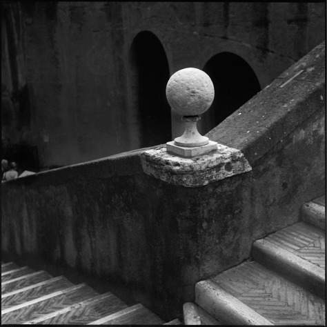 Stairs, Newel Post, Castel Sant'Angelo