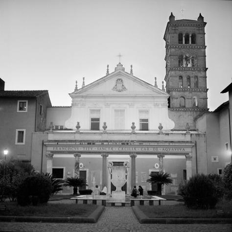 Santa Cecilia Courtyard, Twilight