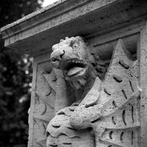 Snarling Dragon, Villa Borghese