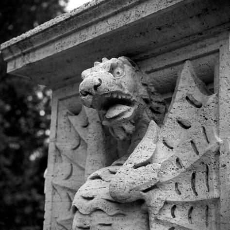 Snarling Dragon, Villa Borghese