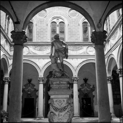Courtyard, Medici-Riccardi Palace