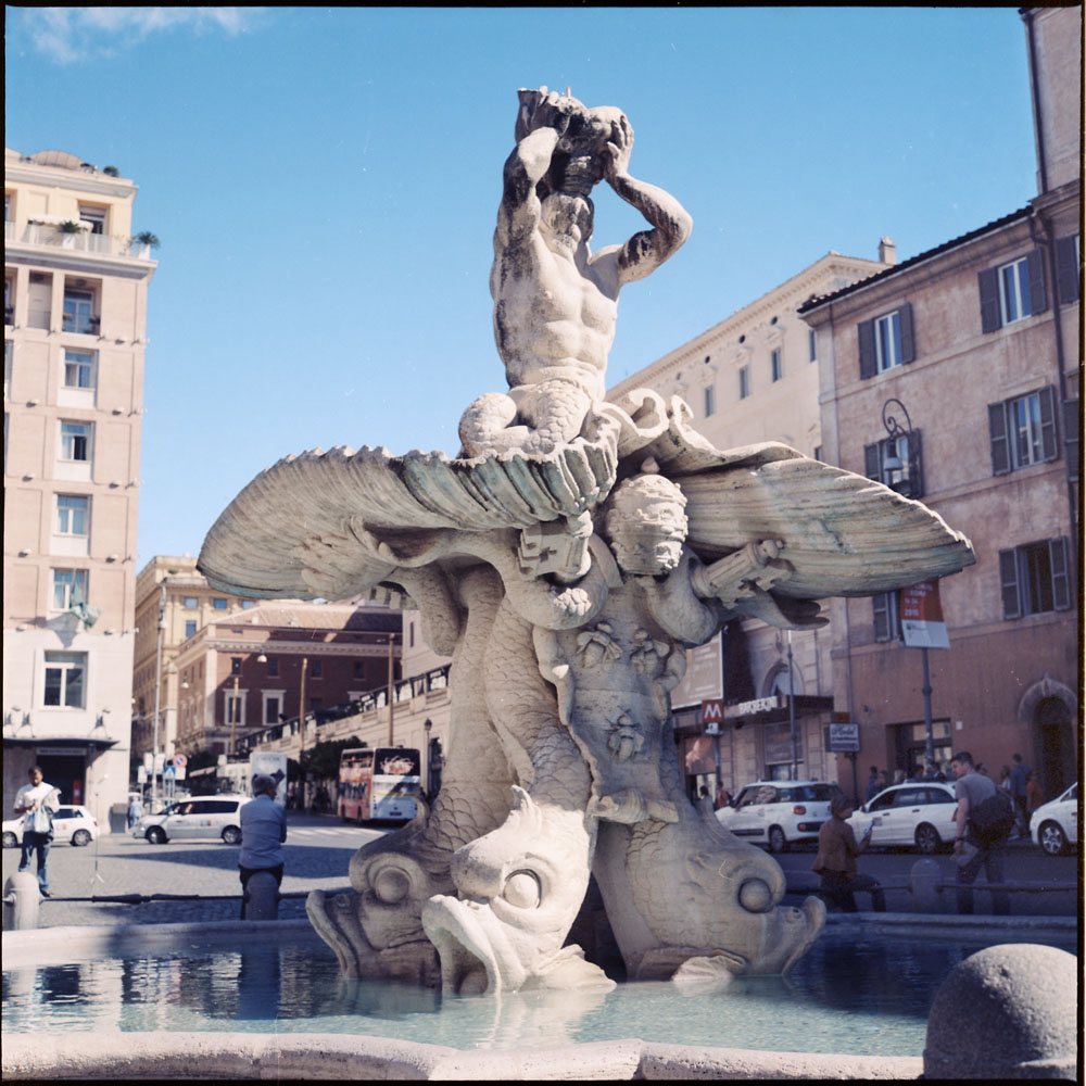 Triton Fountain, Piazza Barberini