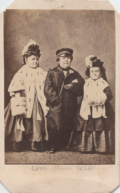 Tom Thumb, His Wife, and Her Sister