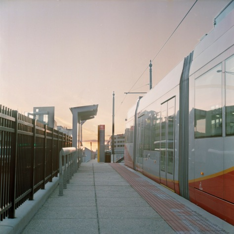 DC Streetcar, Union Station, Sunset