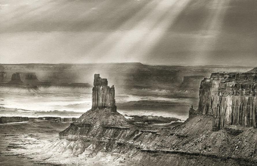 Candlestick Butte, by Erik Larsen