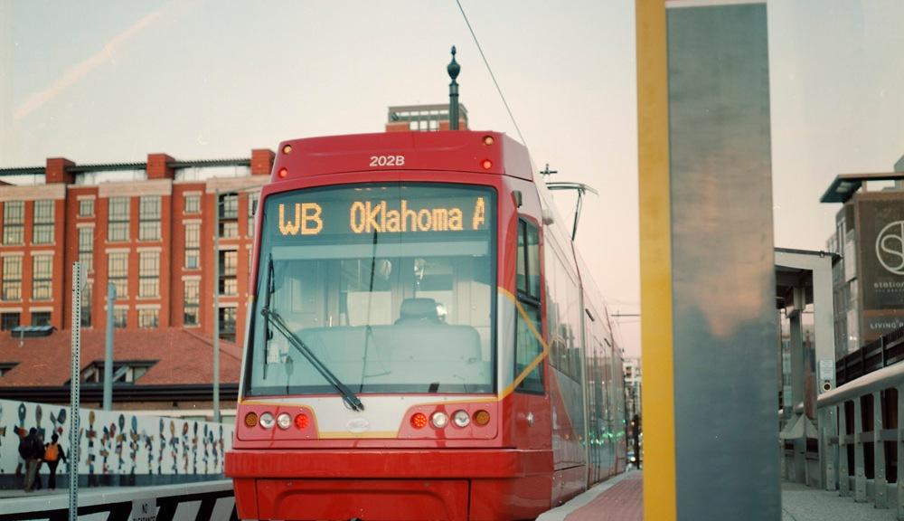 Westbound Oklahoma Avenue Streetcar