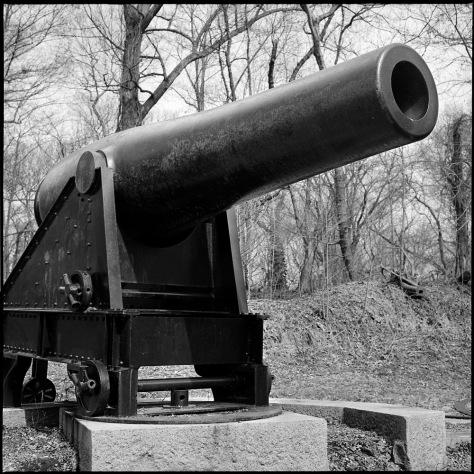 Rodman Gun, Fort Foote