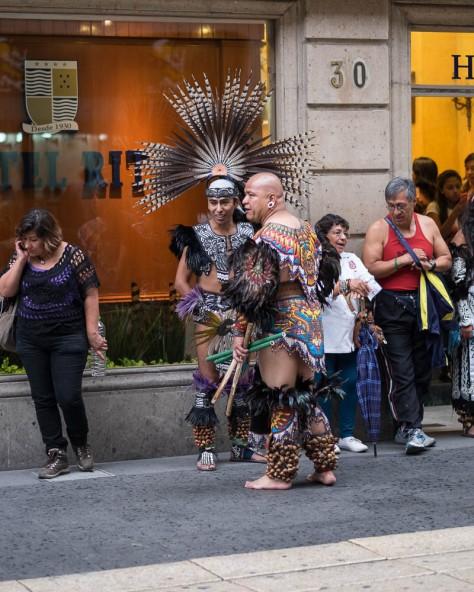 Aztec Dancers, Hotel Ritz