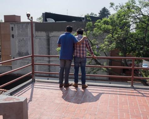 Gay Couple, Casa Diego Rivera