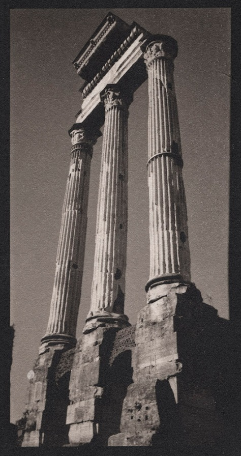 Three Columns, Temple of Vesta, Roman Forum