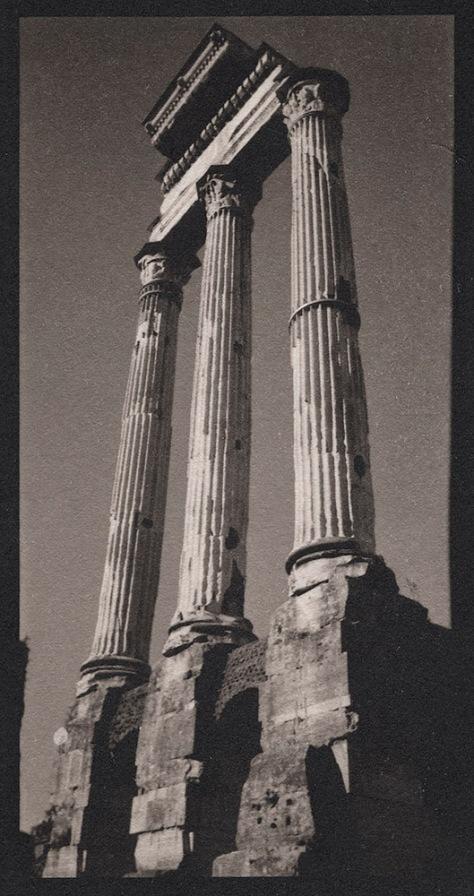 Three Columns, Temple of Vesta, Roman Forum