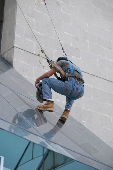 Window Washer, Templo Mayor Museum