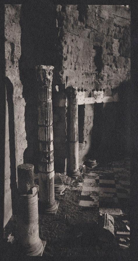 Columns, Marble Floor, Trajan's Market