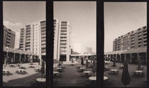 Columbia Plaza, Horizontal Triptych