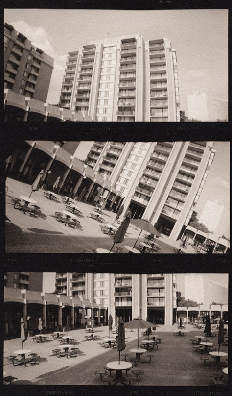 Columbia Plaza, Vertical Triptych