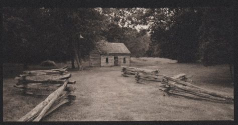 Recreated Slave Cabin, Sully