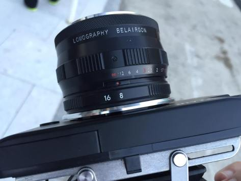 The Zenit Belairgon 114mm, and its controls