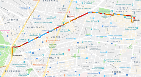 RouteOfDiaDeLosMuertosParade